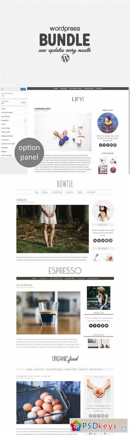 Wordpress Bundle - 8 Themes for 49 $ 316541