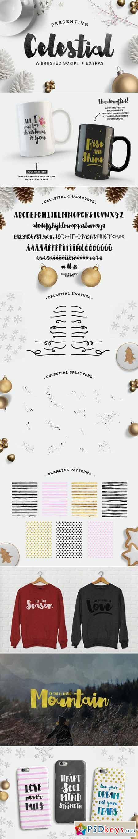 Celestial Script + Extras 408073