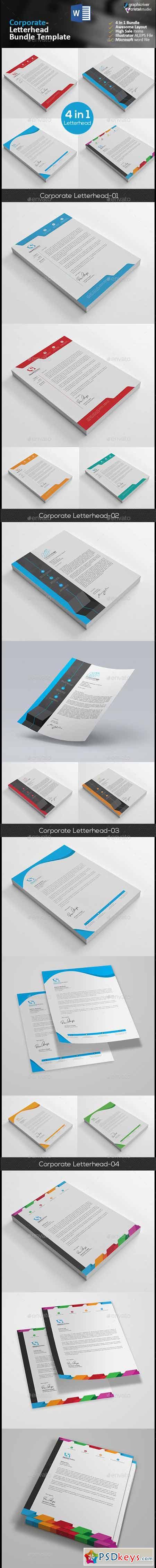 Letterhead Bundle 4 in 1 13210658