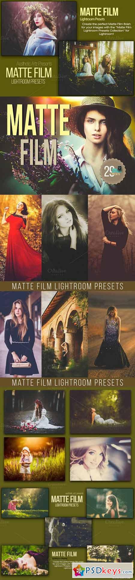 Matte Film Lightroom Presets 39500