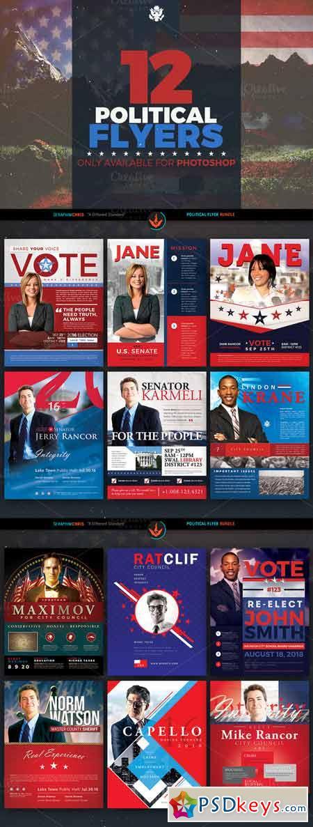 Ultimate Political Flyer Bundle 365492