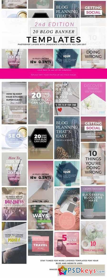 Blog Instagram Pinterest Banners 2 359423