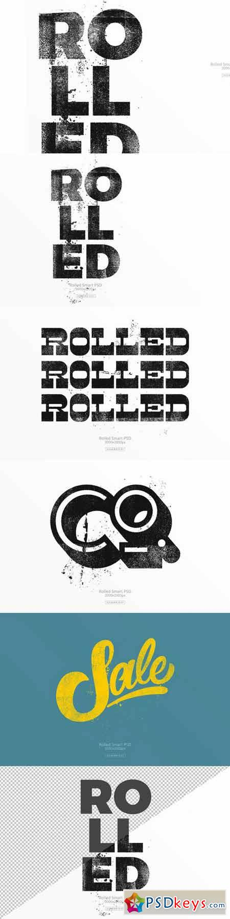 Rolled Smart PSD 410717
