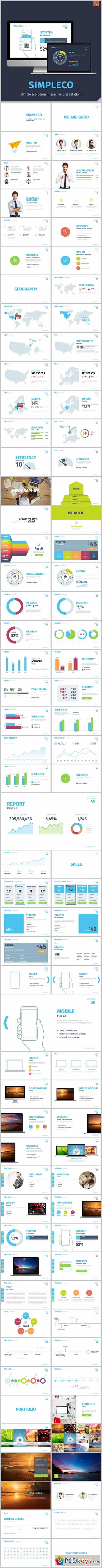 SIMPLECO Simple Powerpoint Template 13220655