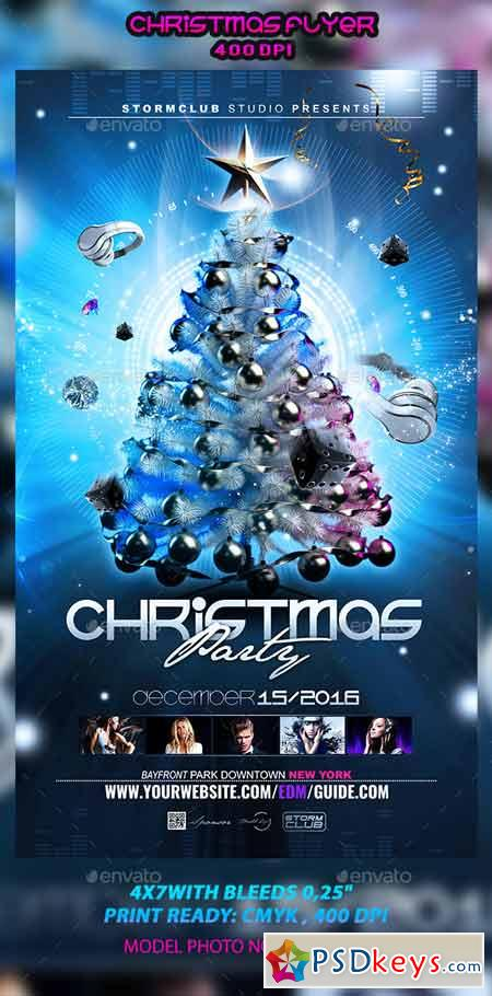 Christmas Flyer Template 12964829