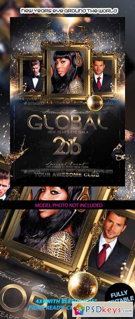 New Years Eve Around the World 12843913