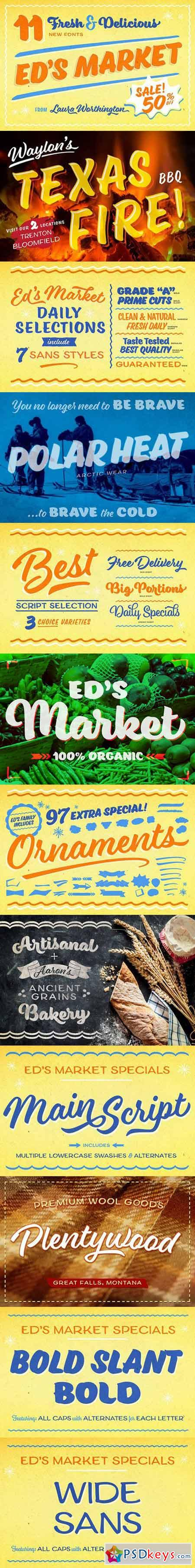 Ed's Market Collection 382301