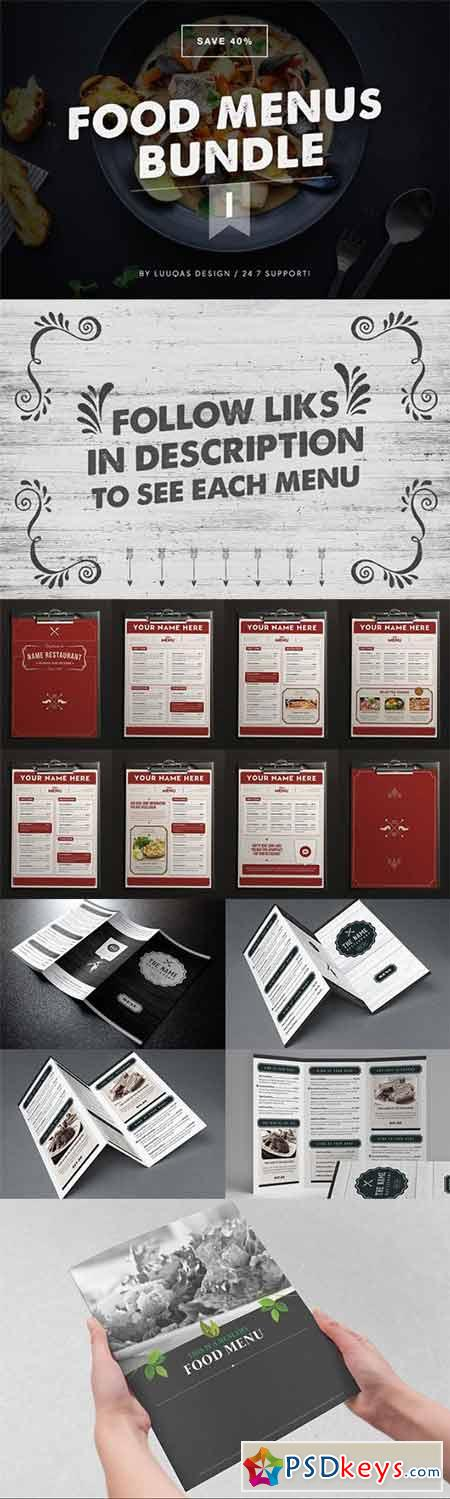 Food Menus Bundle 1 299594
