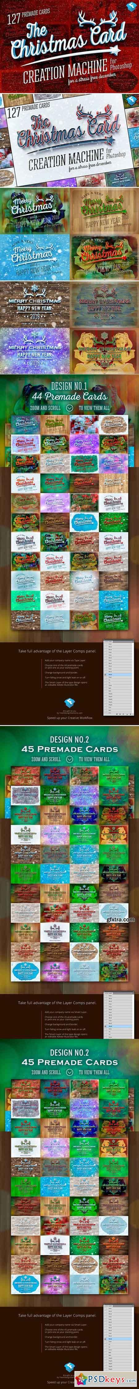 Christmas Card Creation Machine 419261