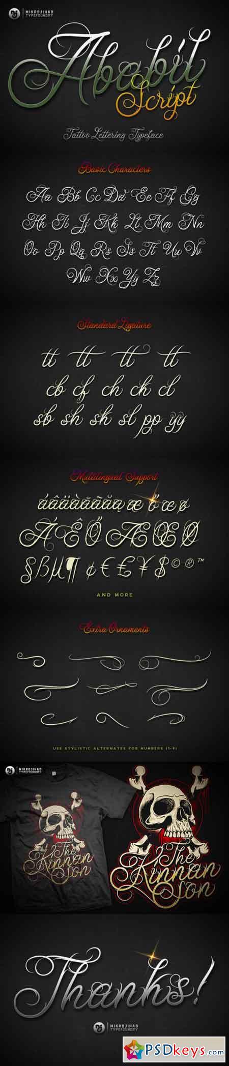 Ababil Script Standard (FREE DEMO)