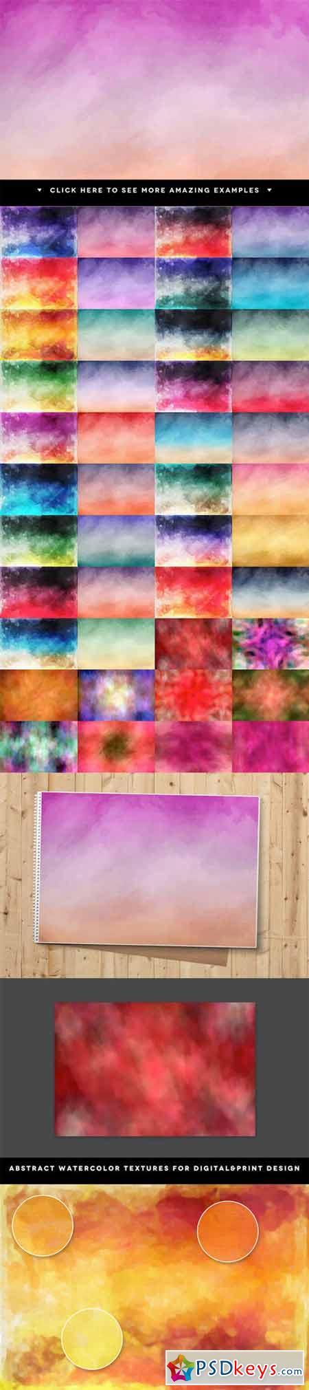 45 Watercolor Textures 26481