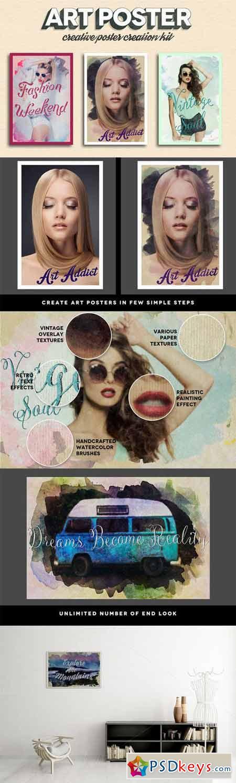 Art Poster Kit + Free Bonuses 243163