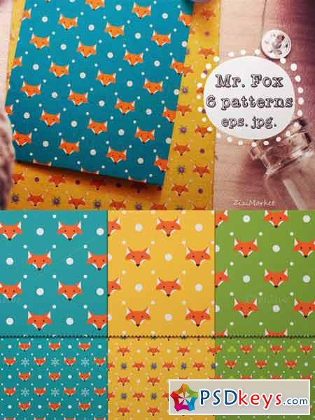 Mr. Fox Pattern 141654