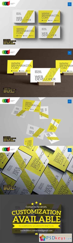 Web Developer - Business Card 71 314039