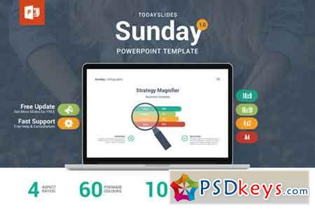 Sunday PowerPoint Template 314160