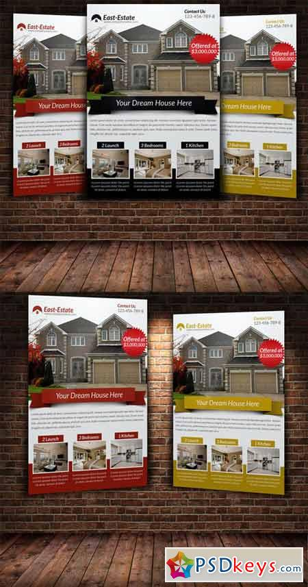 Real Estate Flyer Template 222408