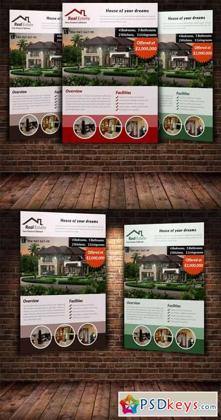 Real Estate Flyer Template 222946