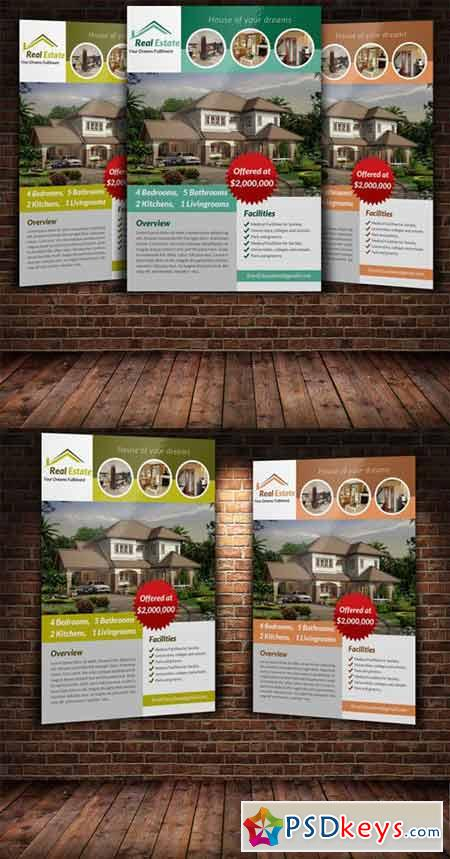 Real Estate Flyer Template 222908