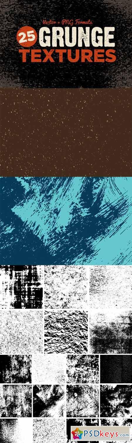 Grunge Texture Pack 72016