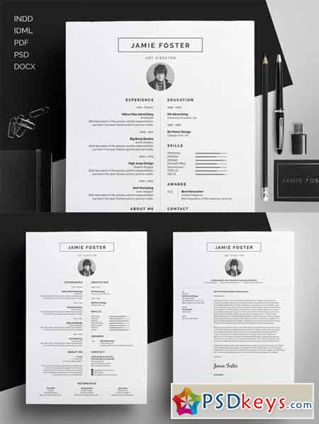 Resume CV - Jamie 275131