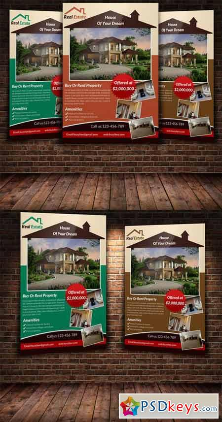 Real Estate Flyer Template 222891