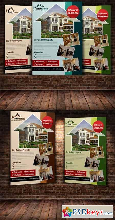 Real Estate Flyer Template 222896