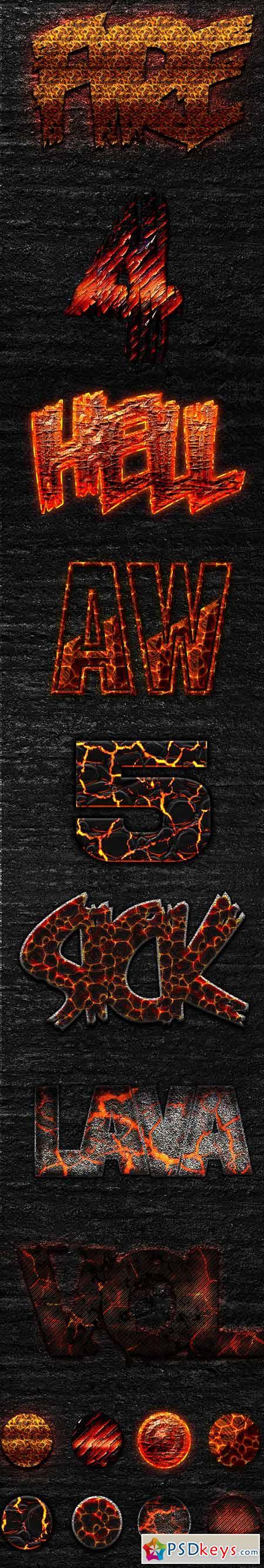 Best Burn & Lava Text Styles 2015 13494487