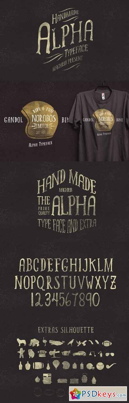 Alpha Rough & Extras 58196
