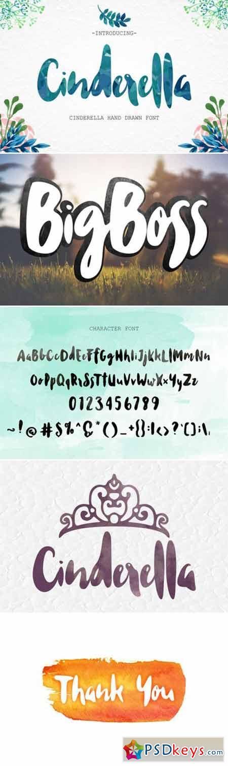 Cinderella Script Font 421989