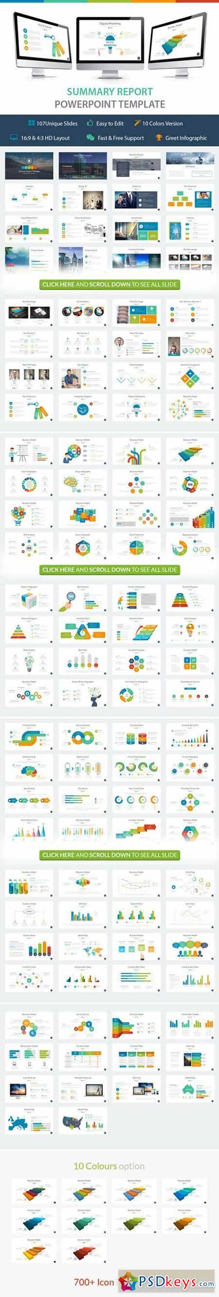 Summary Powerpoint Template 422051