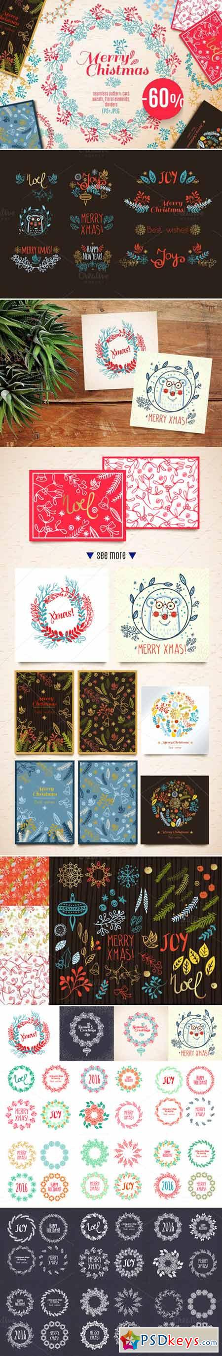 Big Vintage Christmas set 424452
