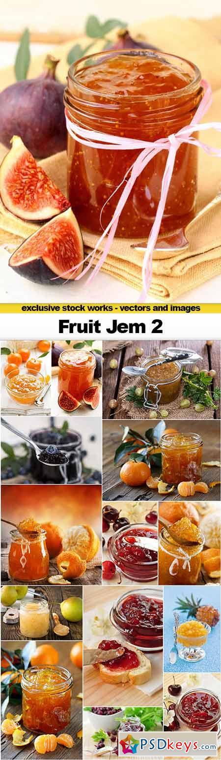 Fruit Jem 2 - 15x UHQ JPEG