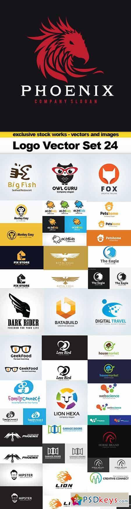Logo Vector Set 24 - 25x EPS