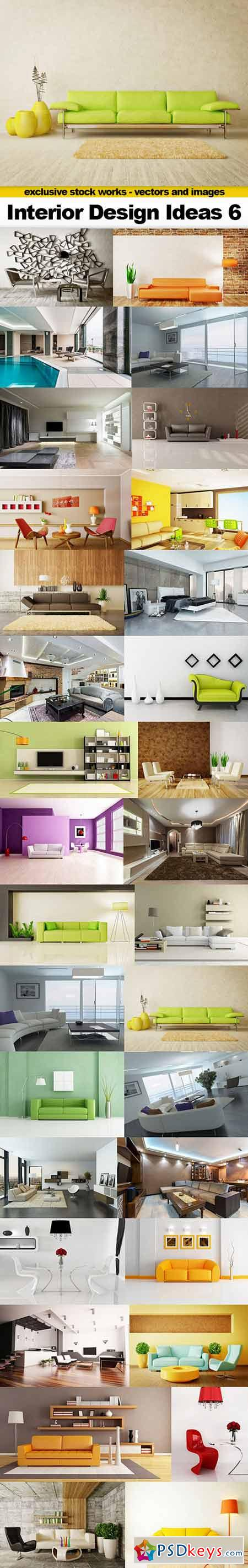 Interior Design Ideas 6 - 32x UHQ JPEGs