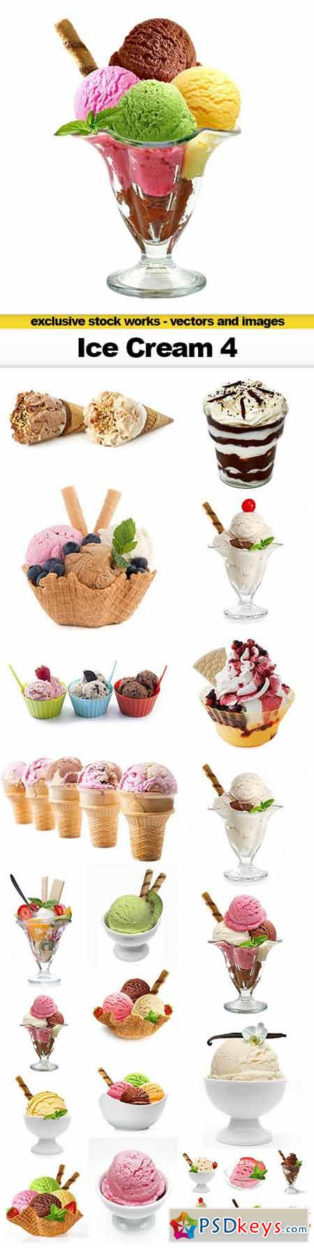 Ice Cream 4 - 20x UHQ JPEGs