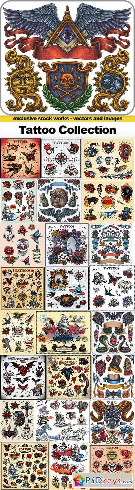 Tattoo Collection, 25x EPS