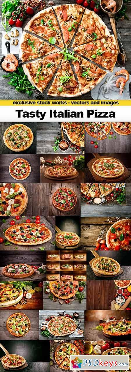Tasty Italian Pizza, 25x UHQ JPEG