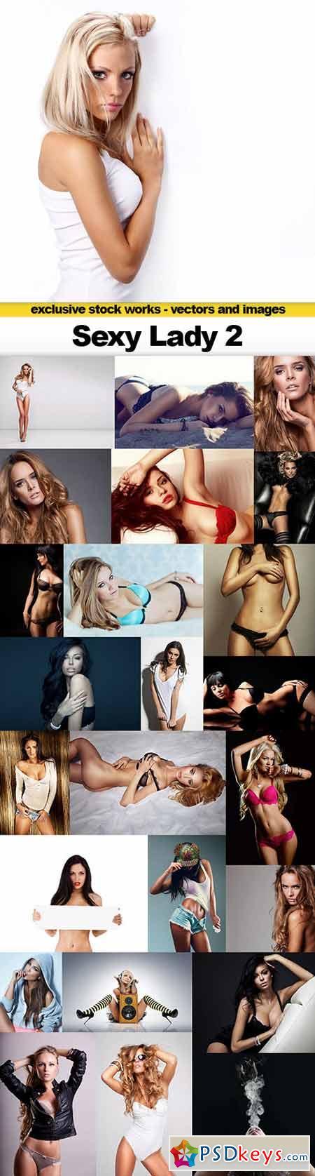 Sexy Lady 2, 25x UHQ JPEG
