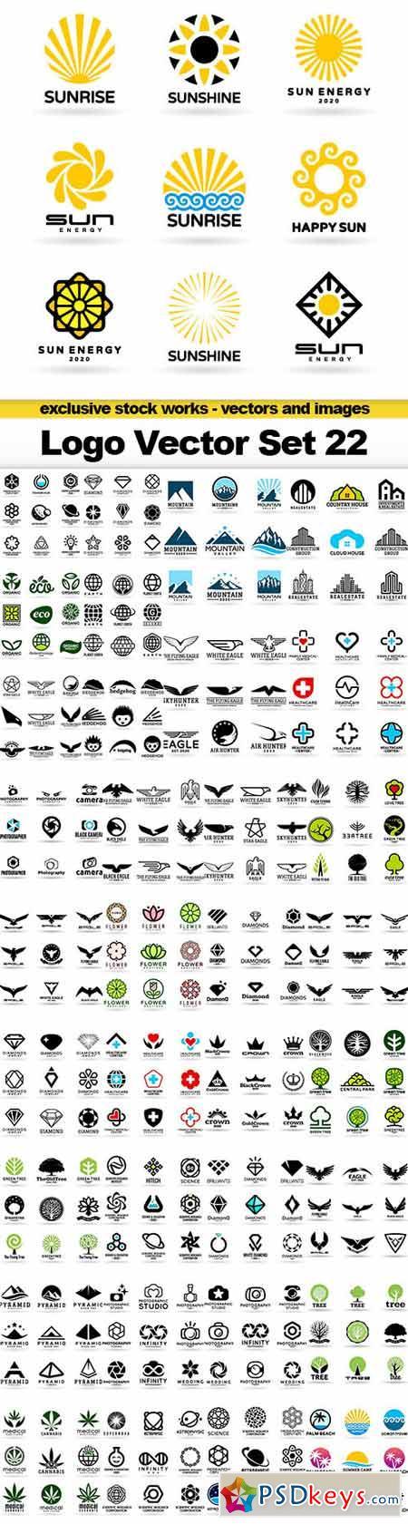 Logo Vector Set 22 - 35x EPS