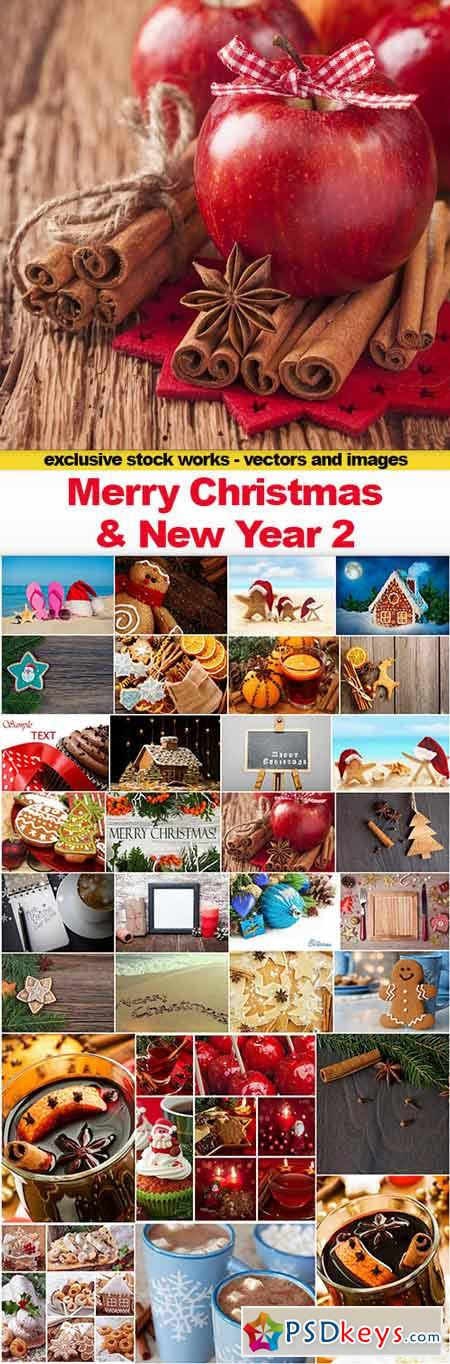 Merry Christmas and New Year 2, 30x UHQ JPEG