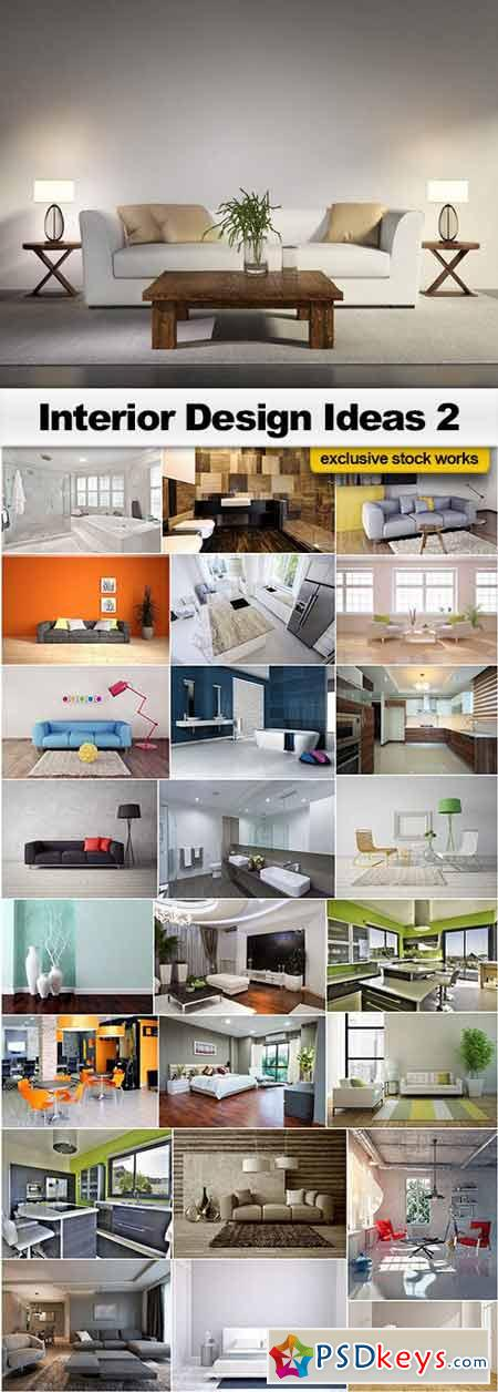 Interior Design Ideas 2 - 25x UHQ JPEG