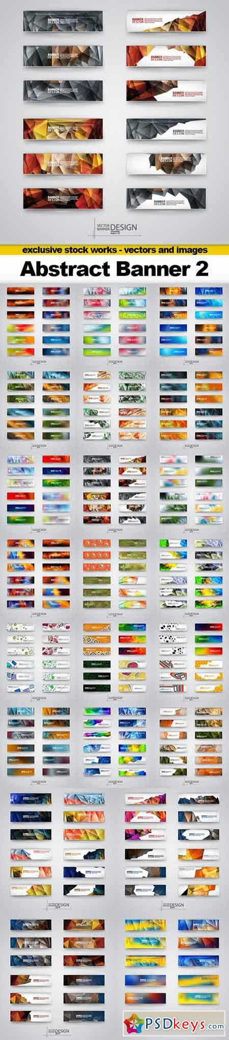Abstract Banner Vector Collection 2 - 22x EPS