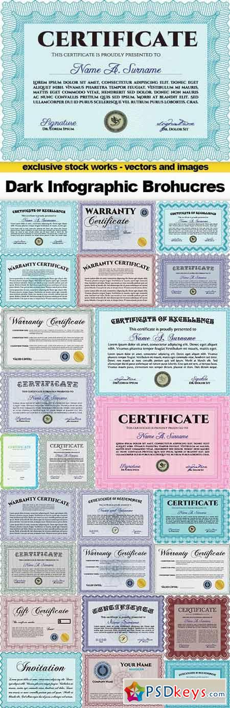 Certificate Collection, 25x EPS