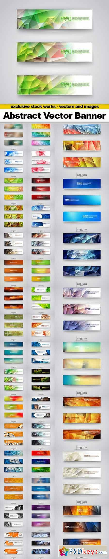 Abstract Banner Vector Collection - 40xEPS