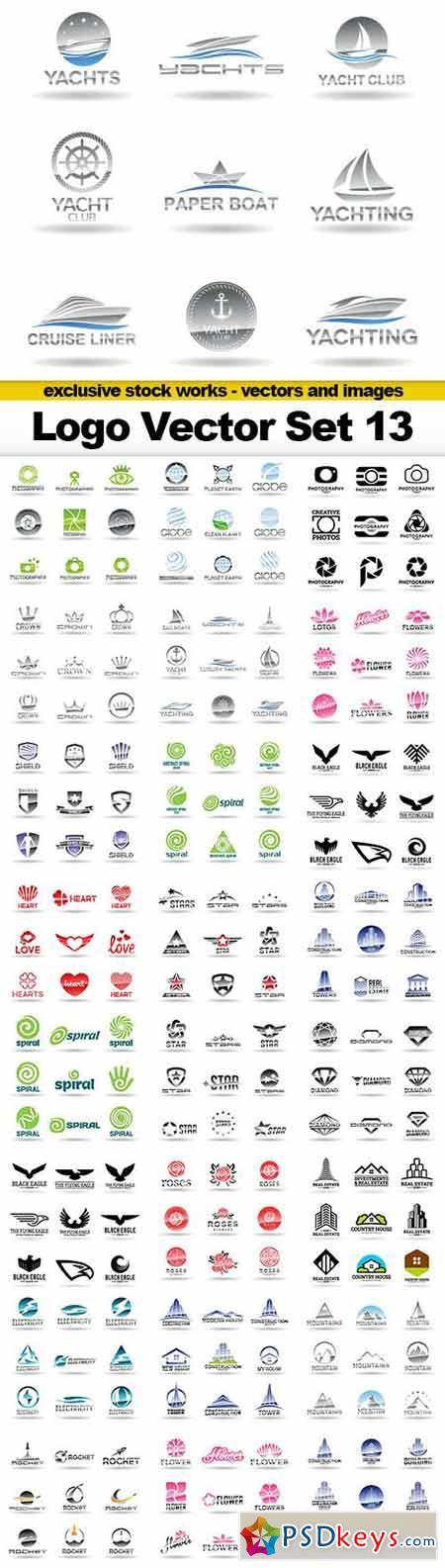 Logo Vector Set 13 - 25xEPS