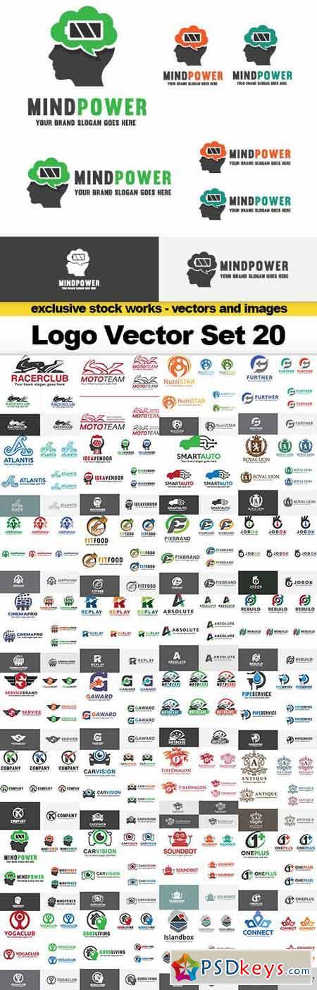 Logo Vector Set 20 - 32x EPS