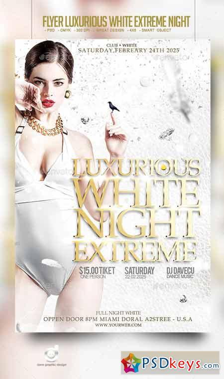 Flyer Luxurious White Extreme Night 10298099