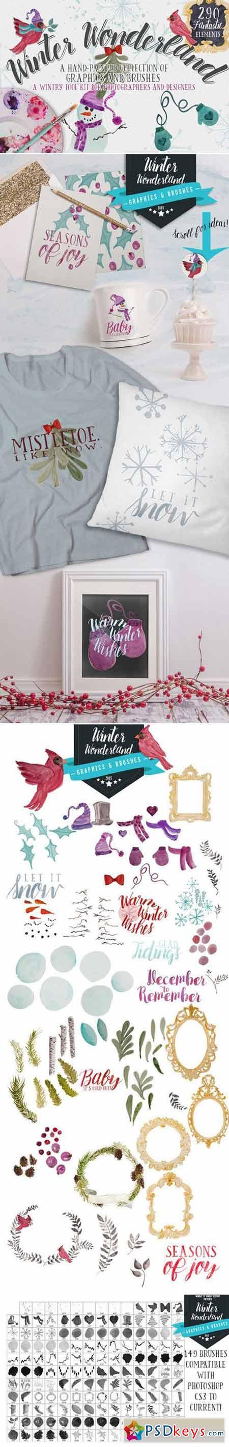 Winter Wonderland Design Tool Kit! 422479