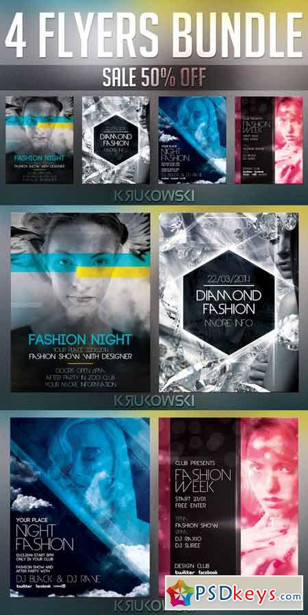 Fashion Flyer Templates Bundle 39748