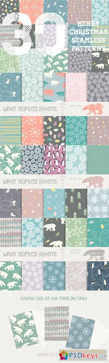 Merry Christmas patterns 111053